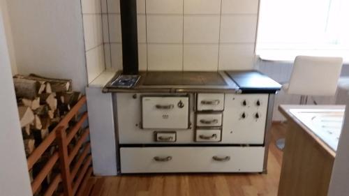 Küche/Küchenzeile in der Unterkunft Urlaubsnest