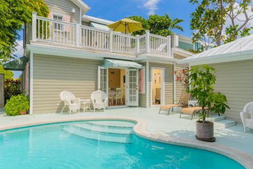 The swimming pool at or near Key West Villas