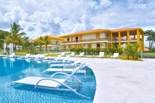 The swimming pool at or near Hotel Mocawa Resort