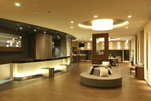Hall ou réception de l'établissement Dormy Inn Premium Shibuya-jingumae