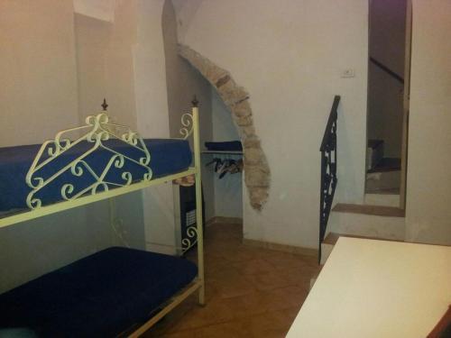 Letto o letti a castello in una camera di Casa Vacanze Picalu'