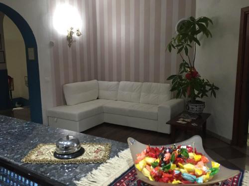 Гостиная зона в Hotel Moderno