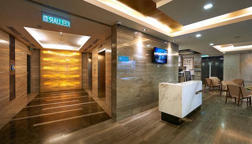 Lobby/Rezeption in der Unterkunft Hotel Transit Kuala Lumpur