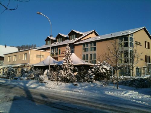 Hotel Felmis during the winter