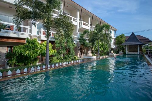 A piscina em ou perto de Neptune's Villa