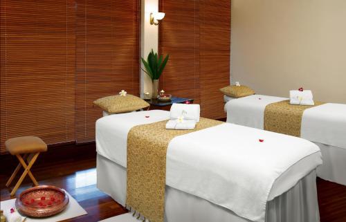 Spa- og/eller wellnessfaciliteter på Taj Malabar Resort & Spa, Cochin.