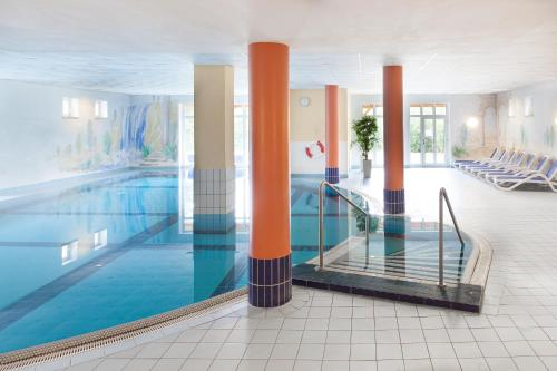 The swimming pool at or near Hotel Ahornhof