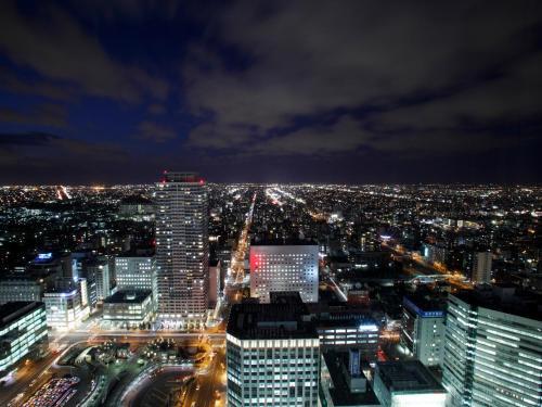 A bird's-eye view of JR Tower Hotel Nikko Sapporo