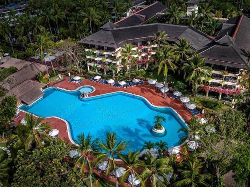 O vedere a piscinei de la sau din apropiere de Prama Sanur Beach Bali