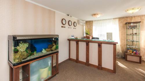 Лобби или стойка регистрации в Отель Челябинск - 4 этаж