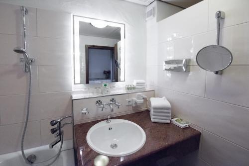 Ванная комната в Hotel Vier Jahreszeiten am Schluchsee