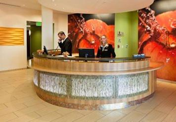 The lobby or reception area at SpringHill Suites Wenatchee