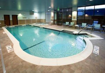 The swimming pool at or near SpringHill Suites Wenatchee
