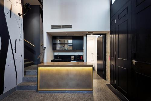 The lobby or reception area at Ovolo 1888 Darling Harbour