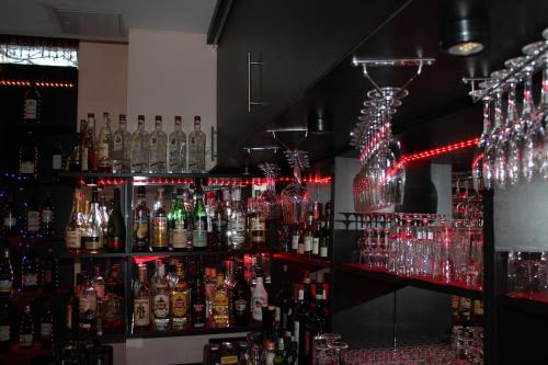 The lounge or bar area at Grand Hotel Empire