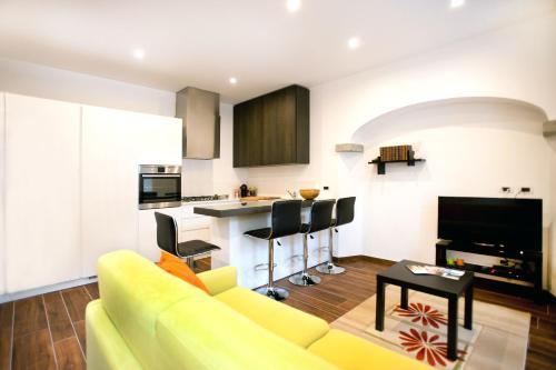 TV o dispositivi per l'intrattenimento presso Appartamento Melissa