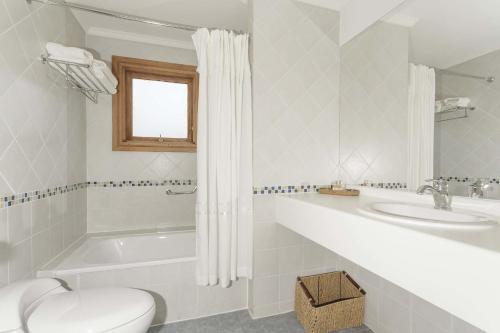 Un baño de Hotel Las Torres Patagonia