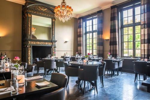 Een restaurant of ander eetgelegenheid bij Fletcher Landgoedhotel Renesse