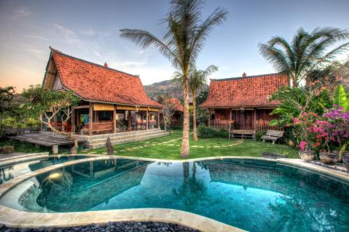 The swimming pool at or near The Kampung