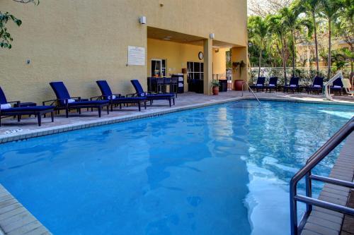The swimming pool at or near Hampton Inn Miami-Coconut Grove/Coral Gables