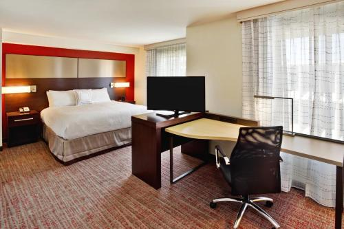 A television and/or entertainment center at Residence Inn by Marriott Chicago Wilmette/Skokie