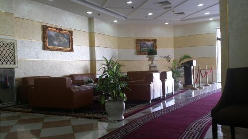 منطقة الاستقبال أو اللوبي في فندق اريانا