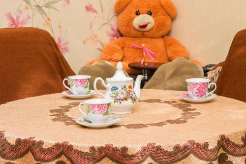 Принадлежности для чая и кофе в Гостевой дом Подворье Ямщика