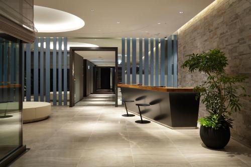 The lobby or reception area at Futakotamagawa Excel Hotel Tokyu