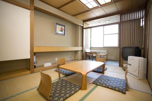 The lounge or bar area at Yurakunoyado Noshiro