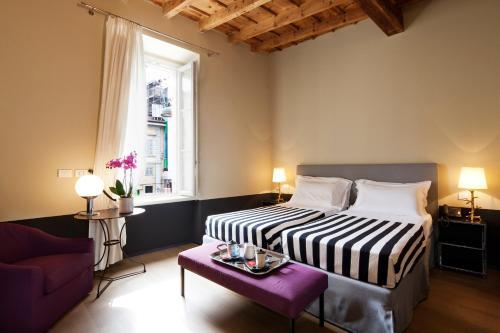 Cama o camas de una habitación en Maison Borella