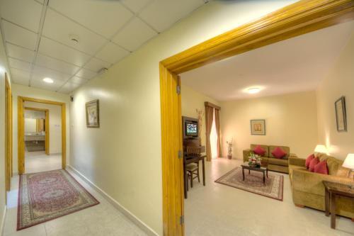 The lobby or reception area at Asfar Resorts Al Ain