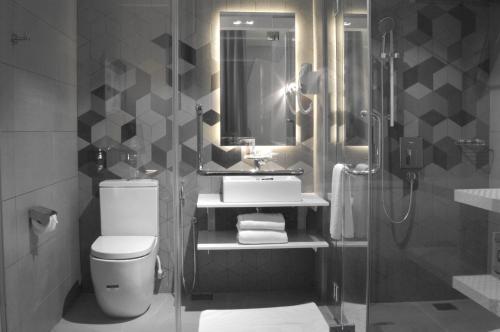 Ein Badezimmer in der Unterkunft Melange Boutique Hotel Bukit Bintang