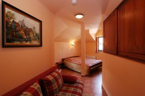 Кровать или кровати в номере Betlem Club Hotel