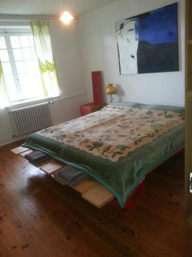 Un ou plusieurs lits dans un hébergement de l'établissement Le Chapitre 1
