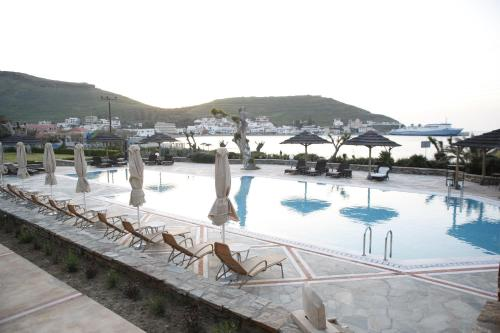 The swimming pool at or near Porto Kea Suites