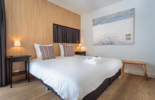 Cama o camas de una habitación en Hotel Bla Bla