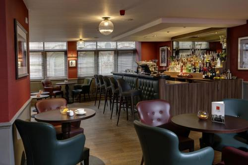 A restaurant or other place to eat at Best Western Sheffield City Centre Cutlers Hotel