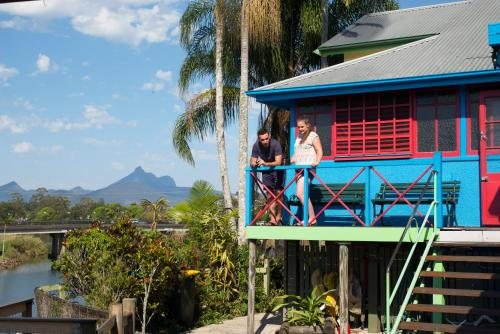 Spa and/or other wellness facilities at Murwillumbah Guesthouse YHA