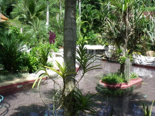 The swimming pool at or close to Noble Crown Resort & Spa