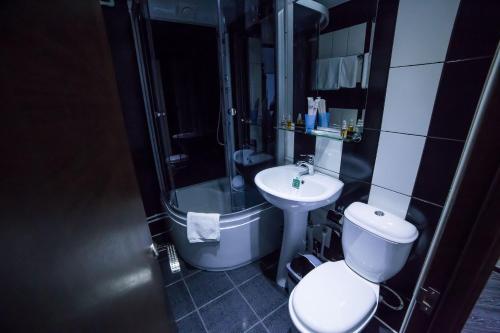 Ванная комната в Гостиница Сити