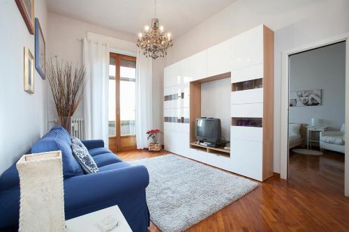 Zona de estar de La Gare Apartment