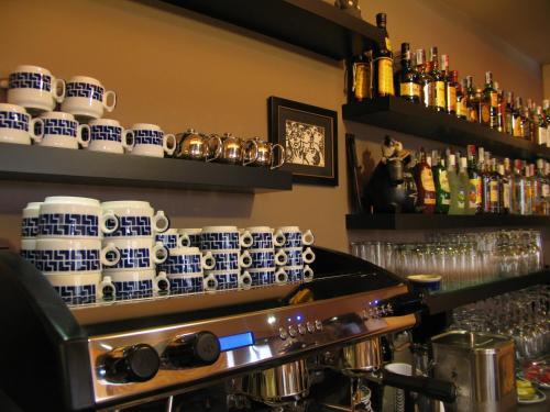 El salón o zona de bar de Hotel Rolle