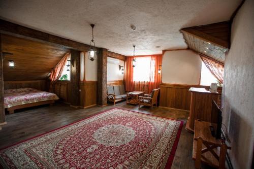 Гостиная зона в Усадьба Сар-Герел Алтая