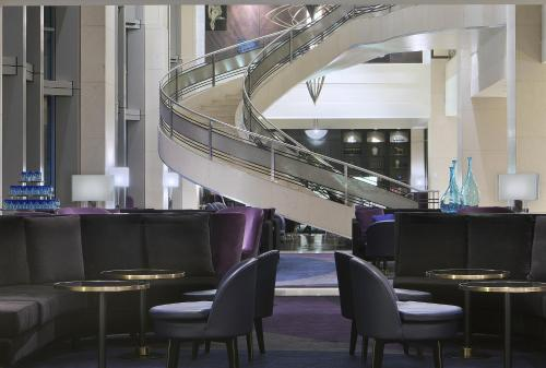The lounge or bar area at The Westin Melbourne