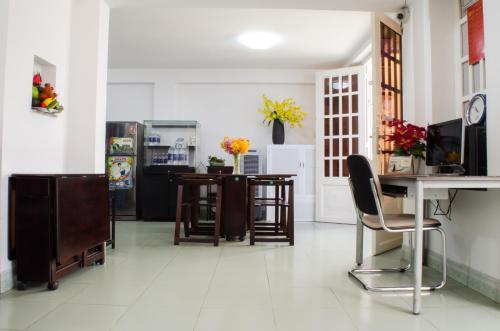 Nhà bếp/bếp nhỏ tại LeBlanc Saigon