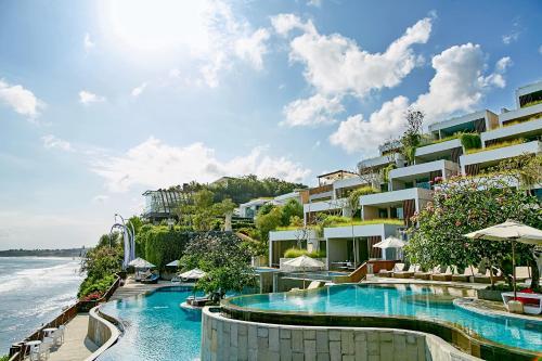 The swimming pool at or near Anantara Uluwatu Bali Resort