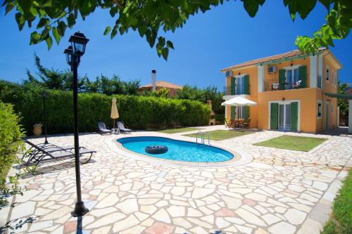 The swimming pool at or close to Iliachtides Villas