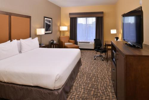 A television and/or entertainment center at Holiday Inn Express Hotels Page, an IHG Hotel