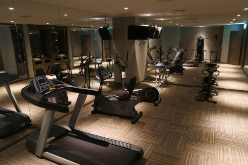 The fitness center and/or fitness facilities at Chiayi Maison de Chine Hotel