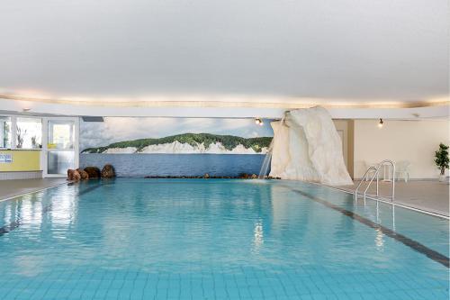 The swimming pool at or near Rügen-Hotel Sassnitz